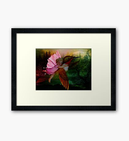 Childhood Garden Framed Print