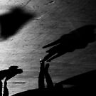 Step carefully on shadows .. by Berns