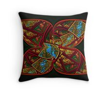 Butterfly Wings that Kiss the Sun Throw Pillow