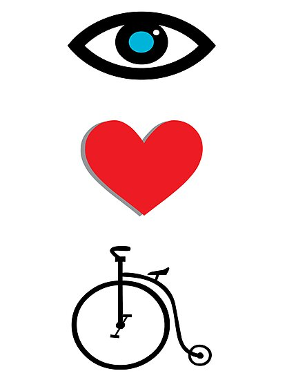 I Heart Cycling by sledgehammer
