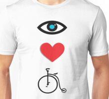 I Heart Cycling Unisex T-Shirt