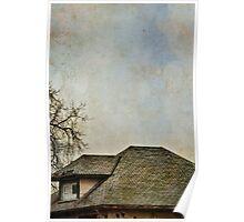 Vintage Rooftop Poster