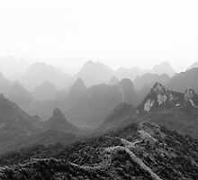 Mountains of Guilin by Chopen