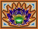 Splits-Ngon #5:  Dimpled Crown  (UF0599) by barrowda