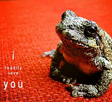 I Toadily Love You by Lynn Armstrong