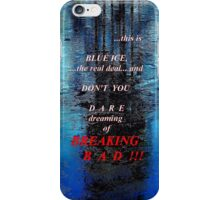 Blue Ice Breaking Bad iPhone case iPhone Case/Skin