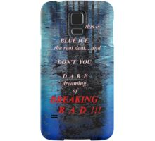 Blue Ice Breaking Bad iPhone case Samsung Galaxy Case/Skin
