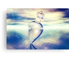 Coloured Crystal Canvas Print