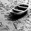 Small Boat Low Tide by ReidOriginals