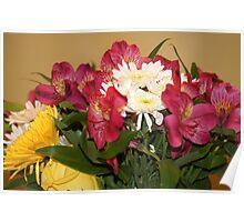 Floral Arrangement Poster