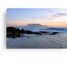 Rough waters - Cape Town Canvas Print