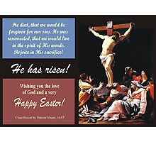"Simon Vouet's ""Crucifixion"" of Jesus, 1637 Photographic Print"