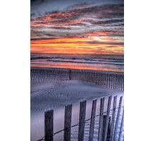 Double Fence Photographic Print