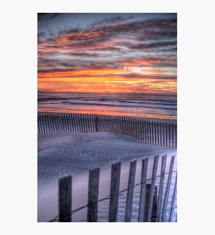 Double Fence Photographic Print