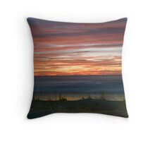 OC Fence Rise Throw Pillow