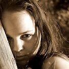 Hide and Seek - sepia by Roxanne du Preez