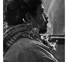 Smoke screen Photographic Print