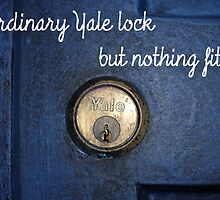 Ordinary Yale Lock... by likessheepbaa