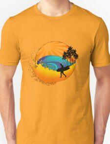 Summers surf Unisex T-Shirt