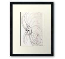 Button Eye Framed Print