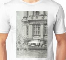 An old classic Mercedes car at Longleat House, Wiltshire, United Kingdom. Unisex T-Shirt