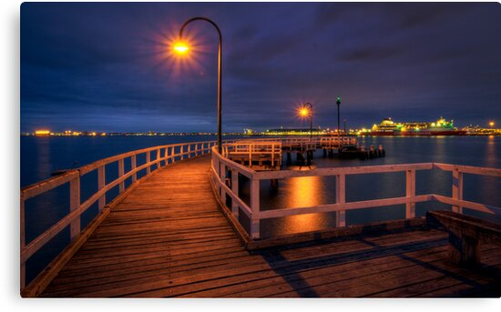 Lagoon Pier by Lincoln Harrison