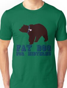 Fat Dog For Midterms Unisex T-Shirt