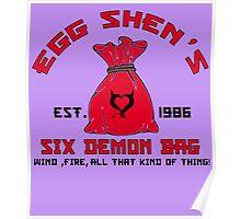 EGG SHEN'S SIX DEMON BAG Poster
