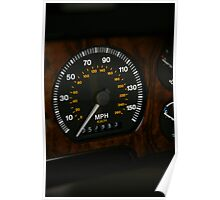 JAGUAR WOOD speedo Poster