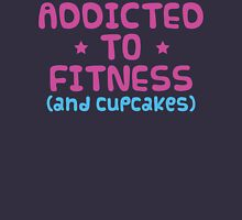 Fitness & Cupcakes Womens Fitted T-Shirt