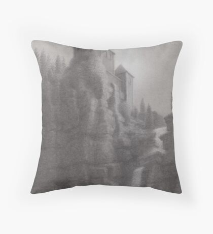 Inn of the Seven Graces Throw Pillow