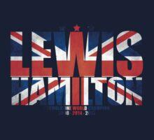 Lewis Hamilton - World Champion Kids Tee