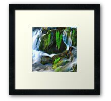 Willow River Falls 6 Framed Print