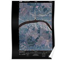 USGS Topo Map Washington State WA Ping 20110406 TM Inverted Poster