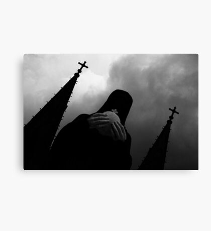 Virgin Mary statue, Notre Dame, Vietnam Canvas Print