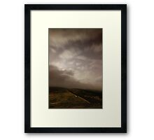 Towards Burnt Hill from Chunal 3 Framed Print
