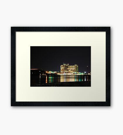 Night Filled With Light Framed Print