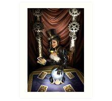 Steampunk High Priestess Art Print