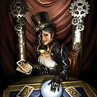 Steampunk High Priestess by Barbara Moore