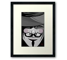 Vendetta Framed Print
