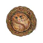 Hazel Dormouse (Muscardinus avellanarius) by Tamara Clark