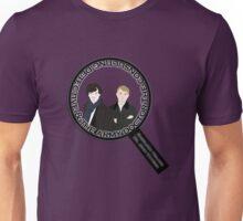 Sherlock & John Microscope Unisex T-Shirt