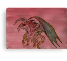 The Year of the Dragon  2012 Canvas Print