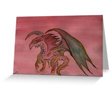 The Year of the Dragon  2012 Greeting Card