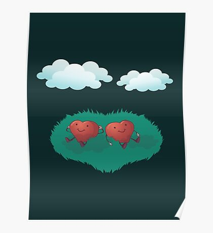 HEARTS IN THE CLOUDS Poster