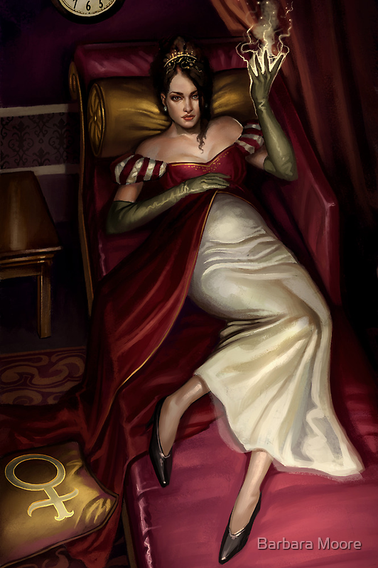 Steampunk Empress by Barbara Moore