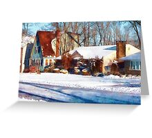 Sunshine After the Snow Greeting Card