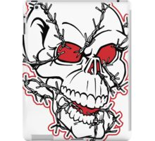 Barb Wired Skull iPad Case/Skin