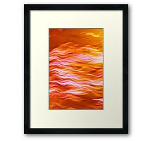HEART OF THE SUN Framed Print