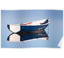 Fishermans Blue Poster